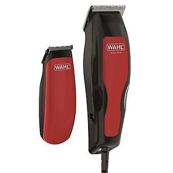 Hair Clippers Wahl PRO 100 COMBO (2 pcs) Rouge Noir