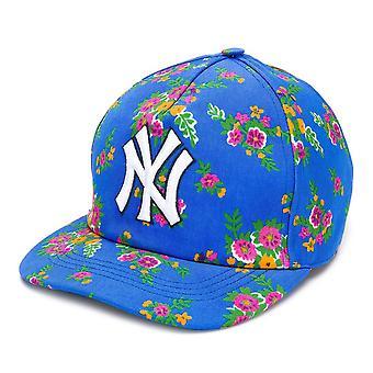 Gucci x NY Yankees Logo Baseball Cap