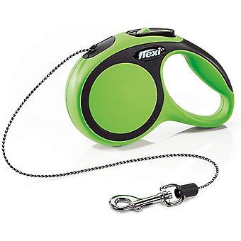 Flexi New Comfort Cord (3m) - Extra Small (8kg) - Vert