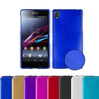Cadorabo Hülle für Sony Xperia Z2 Case Cover - Handyhülle aus flexiblem TPU Silikon – Silikonhülle Schutzhülle Ultra Slim Soft Back Cover Case Bumper