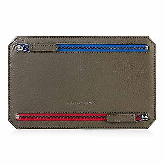 Olive Green Richmond Leather Multi Currency Wallet
