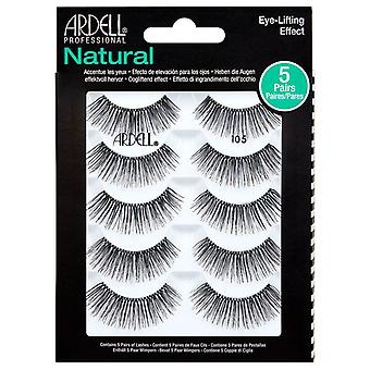 Ardell Natural Eye Lifting Effect Eyelashes Multipack - 105 Lashes - 5 Pair