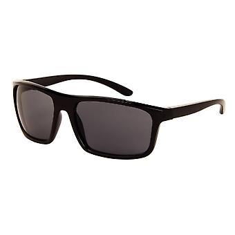 Sonnenbrille Unisex    matt schwarz mit grauer Linse (184 P)