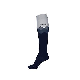 Pikeur Womens Knee Socks - Night Sky (38-40)