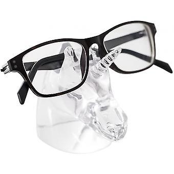 Silmälasiteline Junior Yksisarvinen 8,5 x 8,9 cm Polyresin läpinäkyvä