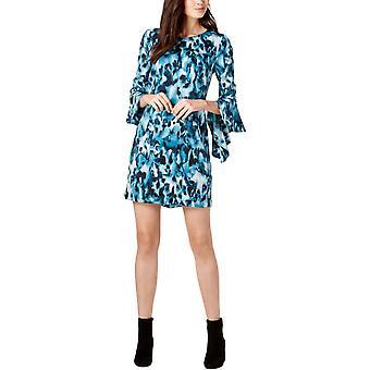 Bar III   Long Sleeve Cold Shoulder Dress