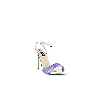 Aqua | Kiki Rainbow High-Heel Sandals