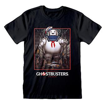 Ghostbusters Unisex Adult Stay Puft T-Shirt