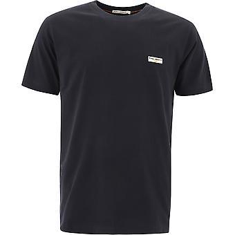 Nudie Jeans 131613b01 Heren's Zwart Katoen T-shirt