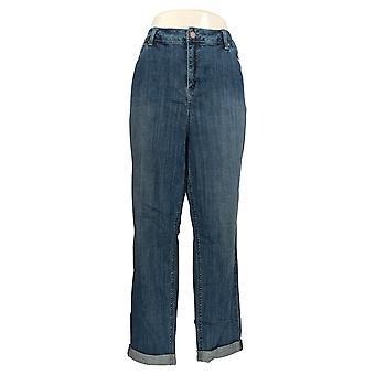 Laurie Felt Women's Plus Jeans Classic Denim Boyfriend Blue A351981