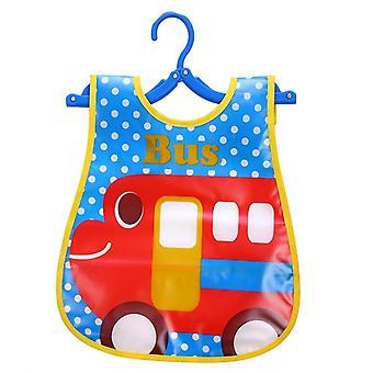 Baby Boy Bibs- Waterproof Long Sleeve Mickey Minnie Girl Bibs, Kids Burp Cloth