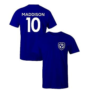 James Maddison 10 Leicester Style Player Football T-Shirt