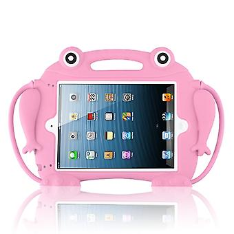 Pop-up Eyes Frog Kids Drop-resistant Protector Cover for iPad Air (A1474,A1475,A1476) - Pinkki