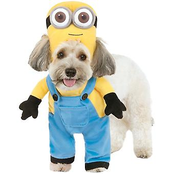 Rubies Halloween Fancy Dress Pet Costume - Minion Bob