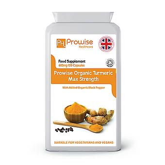 Organic Turmeric with Black Pepper | Suitable For Vegetarians & Vegans