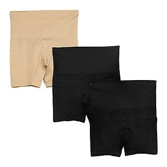 Yummie Shaper S/M Seamless Shaping Shortie 3-Pack Black 607-703