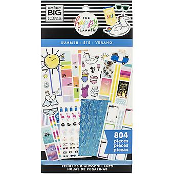 Happy Planner Sticker Value Pack-Zomer, 804/Pkg