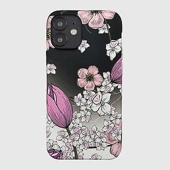Eco Friendly Printed Floral Pink iPhone 12 mini Case
