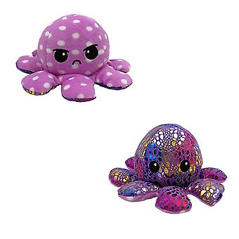 Reversible Flip Octopus Stuffed Plush Doll For Child