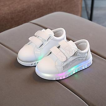 Kids Peuter Led Charging Glowing Sneakers Fashion Luminous Shoes's