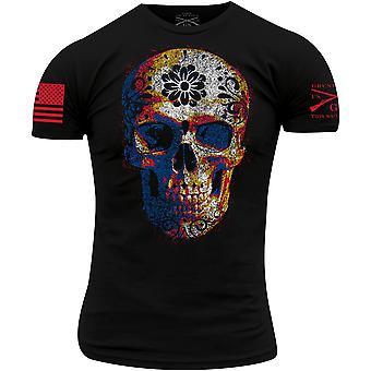 Grunt Style Sugar Skull 2.0 T-Shirt - Preto
