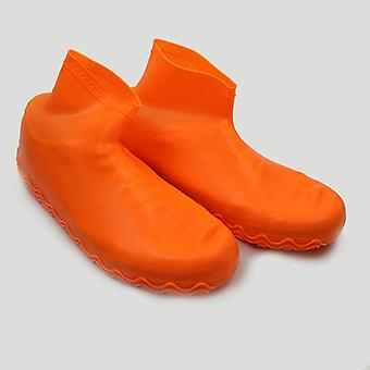 Silicone Slip-resistant Rubber Rain Boot, Overshoes Reusable Latex Waterproof