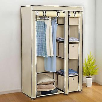 Cloth Folding Portable Light Clothing Storage Cabinet Dustproof Closet Storage
