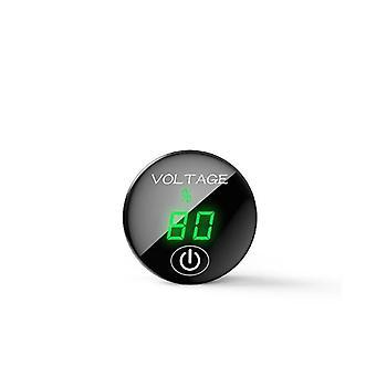 Led-paneel digitale spanning meter batterijcapaciteit Display Voltmeter met touch