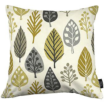 Mcalister textiles magda floral ocre coussin jaune