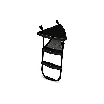 BERG black ladder platform + ladder l for 330cm/11ft trampoline and Over