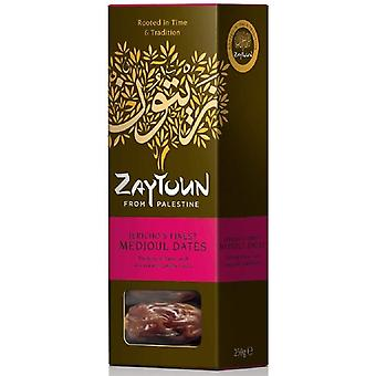 Zaytoun Fairtrade Palestinian Medjoul Dates 250g x6