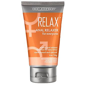 Doc johnson anal relaxer for everyone waterbased lubricant 60 ml / 2.03 fl oz
