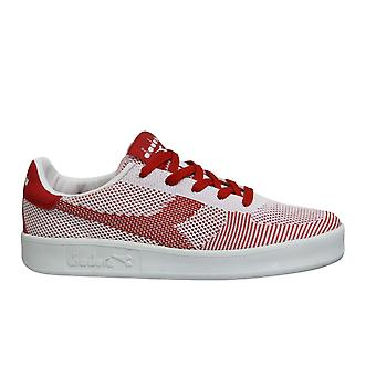 Diadora B Elite SPW Weave Mens Trainers Red Casual Lace Up Sports Shoes C3652