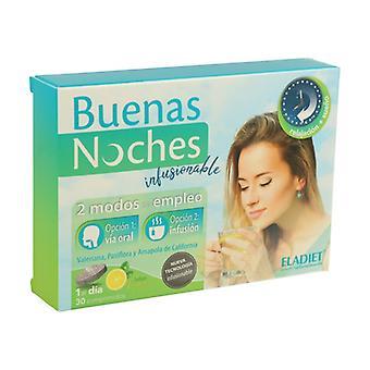 Good Night infuusiona 30 tablettia (Sitruuna)