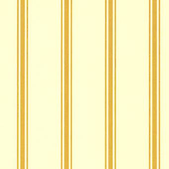 Dolls House Regency Design Gold Stripe Miniatura 1:24 Meia Polegada de Papel de Parede