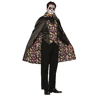 Bristol Nyhed Unisex Voksne Day Of The Dead Cape