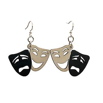 Comedy/tragedy Earrings