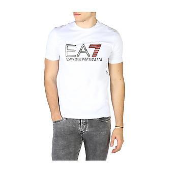 EA7 - Bekleidung - T-Shirts - 3HPT05_PJ03Z_1100 - Herren - white,red - S