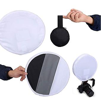 Selens 31cm gray card portable softbox multifunction diffuser for speedlight/flash