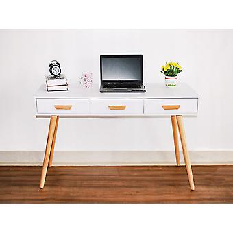 Tavolo office Bianco moderno - 120x45x75 cm