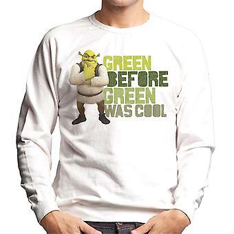 Shrek Green Før Green var cool mænd's Sweatshirt