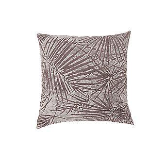 Zeitgenössischer Stil Palmleaves entworfen Set von 2 Werfen Kissen, braun Bm178007