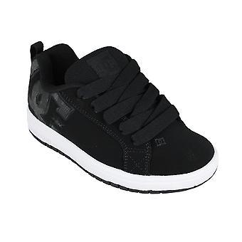 DC Shoes Court graffik adbs100207 black/white - calzado niños