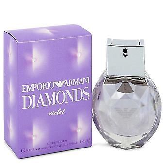 Emporio Armani Diamonds Violet Eau De Parfum Spray By Giorgio Armani 1 oz Eau De Parfum Spray