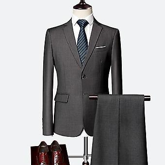 Business Men's Slim Classic High-end Formal Suit