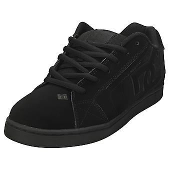 DC Shoes Net Mens Skate Trainers in Black Black