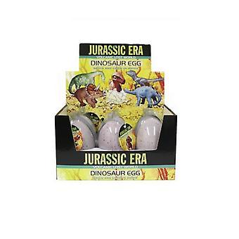 6 Era jurásica cultivo de huevos de dinosaurio en caja de presentación