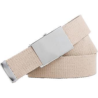 Fabric belt 4cm wide Women's Men