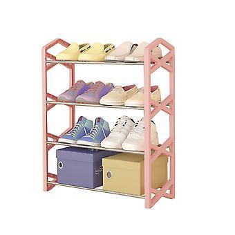 يانغفان بسيطة تتجه مكدس الأحذية الرف الرف منظم التخزين