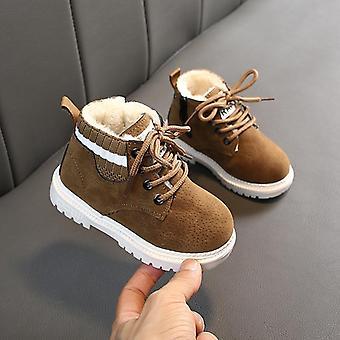 Baby Vinter Spædbarn Toddler Plys Boots